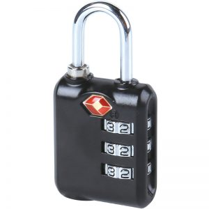 3-Dial Combination TSA Lock